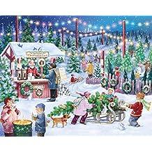 Vermont Christmas Company Christmas Tree Farm Jigsaw Puzzle 1000 Piece