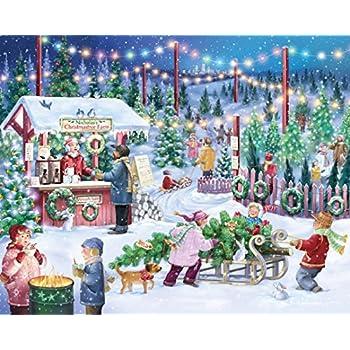 Christmas Tree Farm Jigsaw Puzzle 1000 Piece