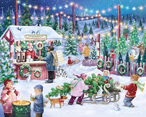 Where to find christmas tree jigsaw puzzles?