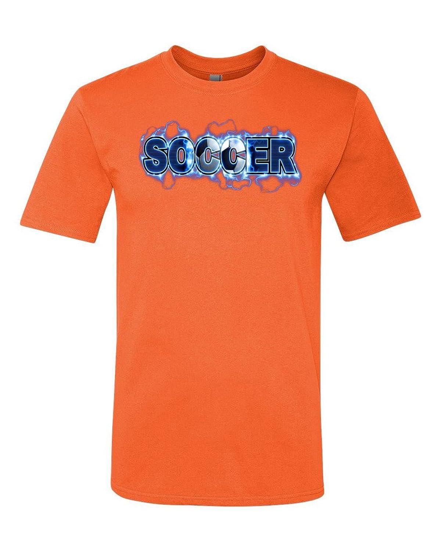 TeeWorlds Soccer Lightning - Sport Tournament Unisex T-Shirt
