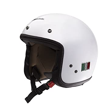 VESPA P-Xential - Casco de moto, color blanco