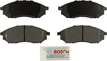 For EX35 G35 M56 Q45 350z  Bosch Blue Semi Metallic Front Disc Brake Pads NEW