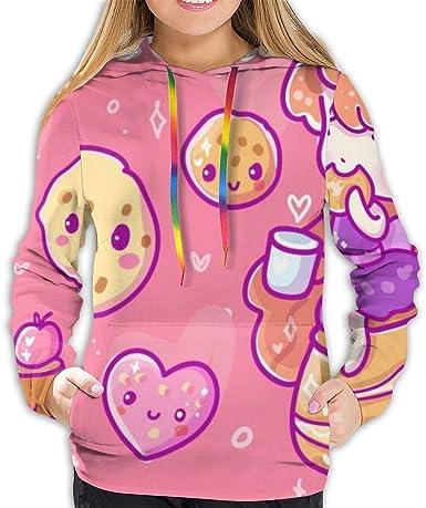 Sudadera con Capucha para Mujer Cute Vector Illustration ...