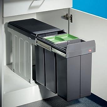 Charmant Wesco Bio Trio Maxi Profi 30 Einbau Abfallsammler Mülltrenner Abfallsystem  Küche: Amazon.de: Elektro Großgeräte