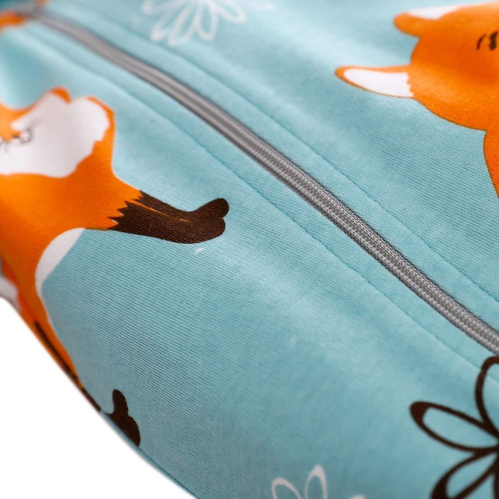 Baby Hoodie Jumpsuit Fox Printed Long Sleeve Romper Onesie Newborn Boy Girl Bodysuit