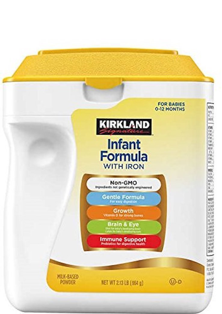 Kirkland Signature Non-GMO Infant Formula, 2 13 Pound