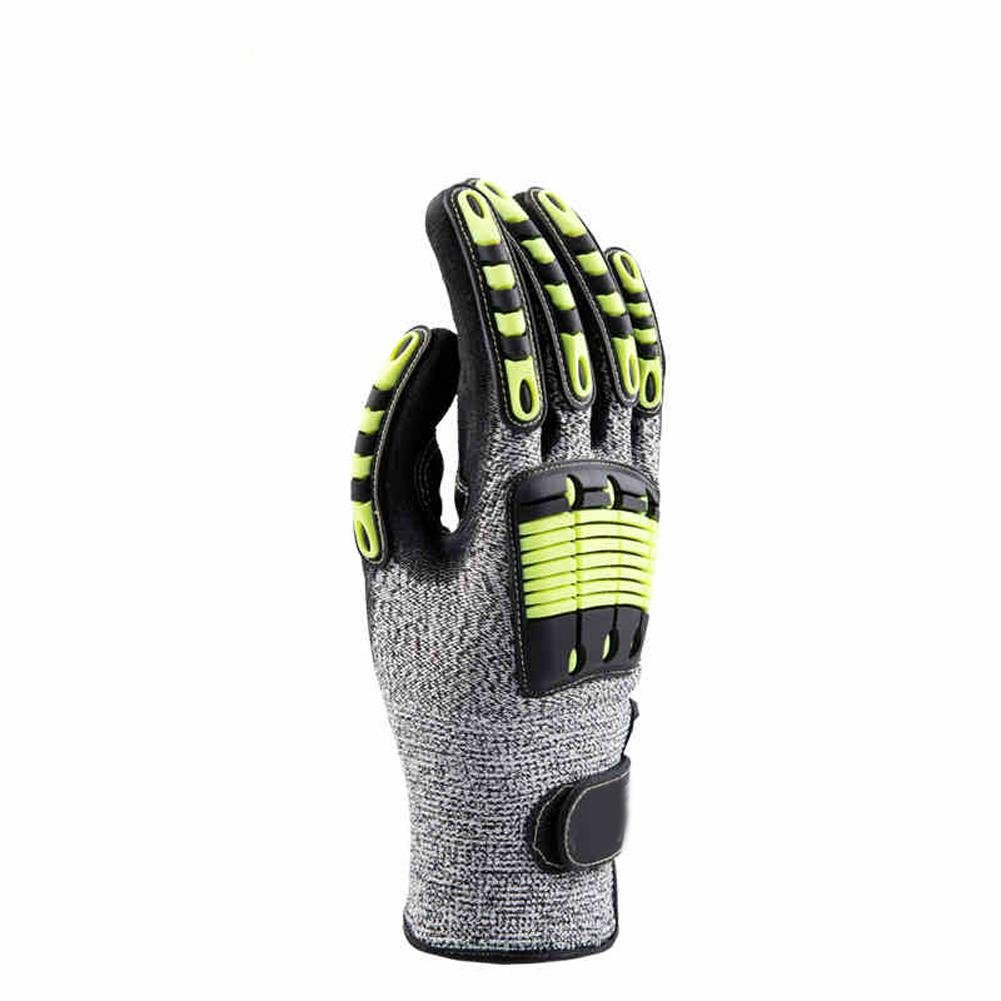 Outdoor sports climbing gloves anti - collision high - altitude work loading and unloading rubber safety equipment by LIXIANG (Image #3)