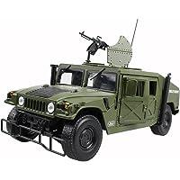 Hugine aleación 1: 18 militar Armored vehículo Diecast