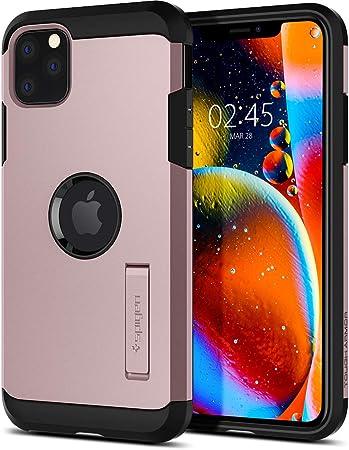 Spigen Tough Armor Hülle Kompatibel Mit Iphone 11 Pro Max Rose Gold Elektronik