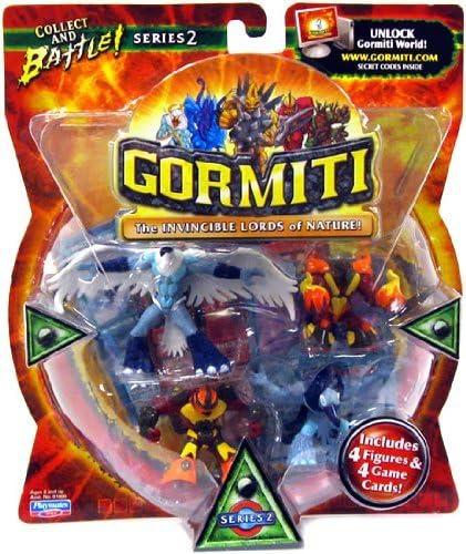 Amazon.com: Gormiti Lords of Nature Series 2 - 4 Pack: Toys \u0026 Games