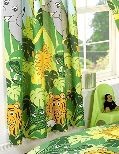 Attractive Jungle Curtains 54s
