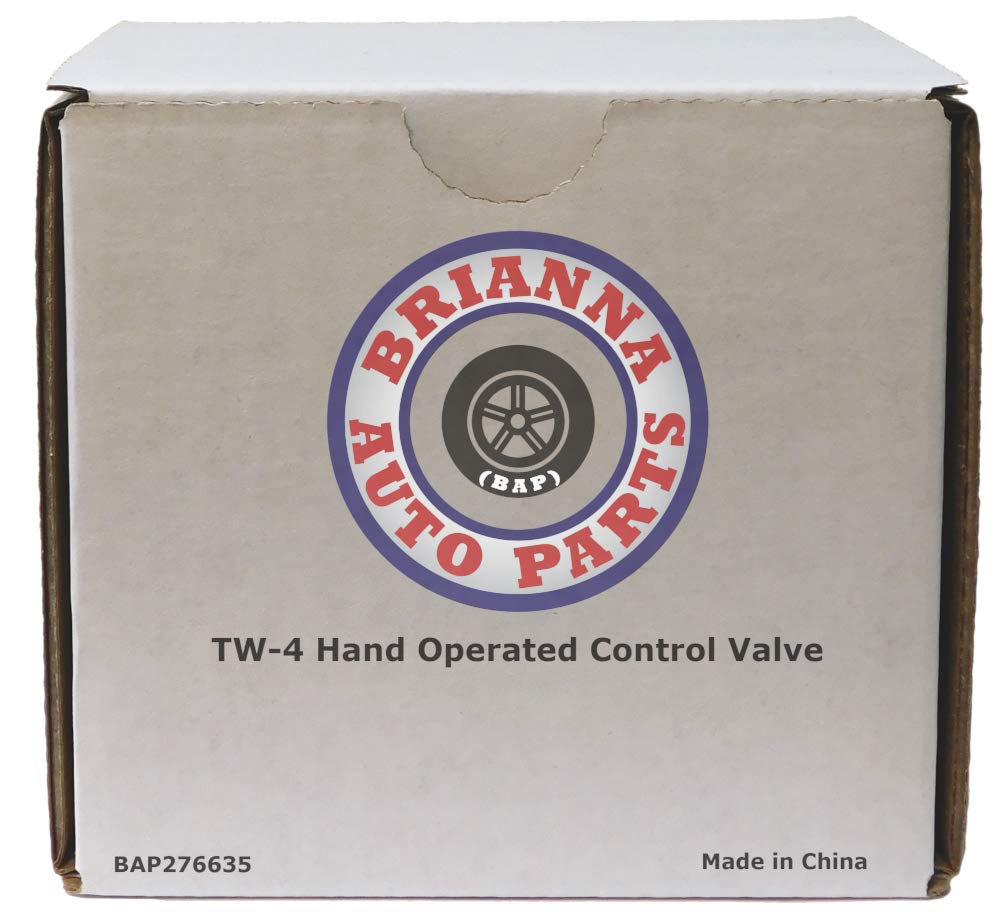TW-4 Hand Operated Push Style Control Valve for Heavy Duty Big Rigs