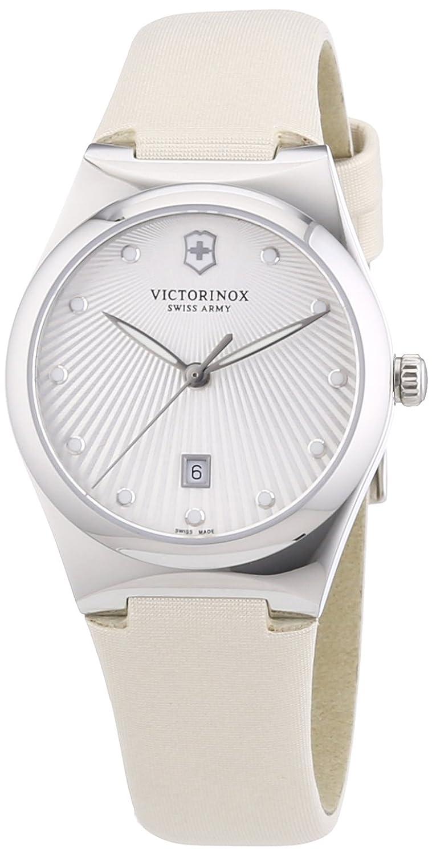 Victorinox Swiss Army Damen-Armbanduhr XS Victoria Analog Quarz Textil 241634