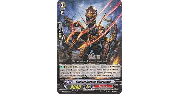 Vanguard TCG trading cards-bt11//076 Ancient Dragon dinocrowd