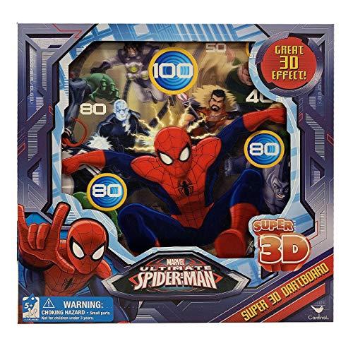 Spider-Man 3D Magnetic Dart Board Game