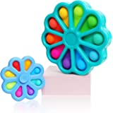 CONQLOAD Fidget Toys Simple Dimple Rotating Push Bubble Pure Toys,Relief Irritability Anti-Anxiety[Only Small one has Rotatin