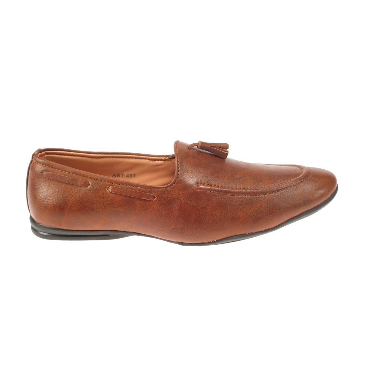 H\u0026V Mens Leather Tan Brown Colour Shoes