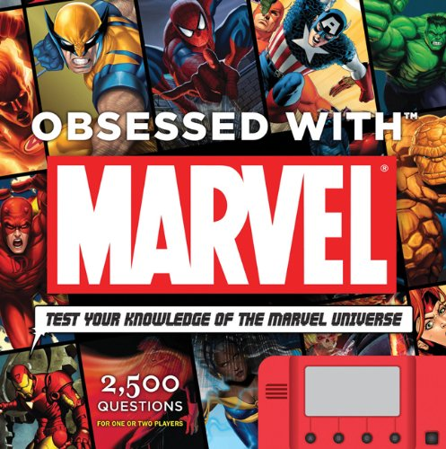 Obsessed With Marvel Trivia Book/Game