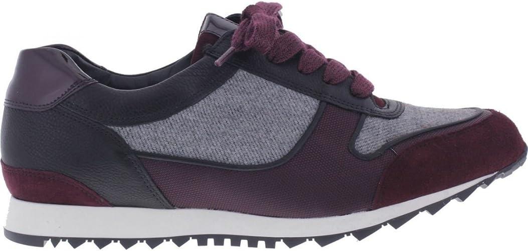 hassia/Barcelona/Negro De Vino/Alcance: H/Textil & Piel/Art: 2 – 301920 – 0142/Mujer Zapatillas, Color, Talla 5.5 UK: Amazon.es: Zapatos y complementos