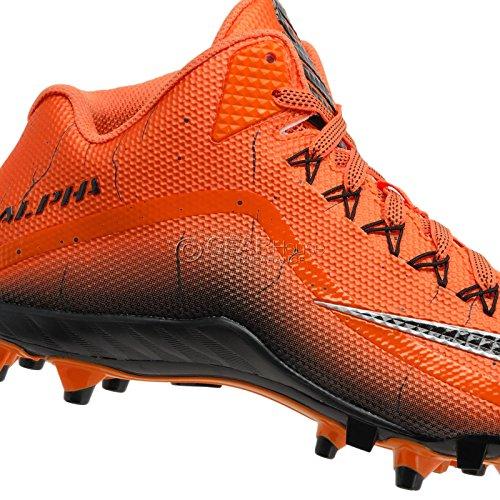 Nike Heren Alpha Pro 2 3/4 Td Voetbal Klampen Team Oranje / Zwart / Zwart