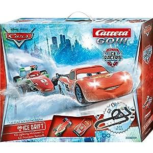 Carrera GO!!! - Disney Pixar Cars Ice Drift (Ice Rayo + Ice Francesco) escala 1:43 (20062359)