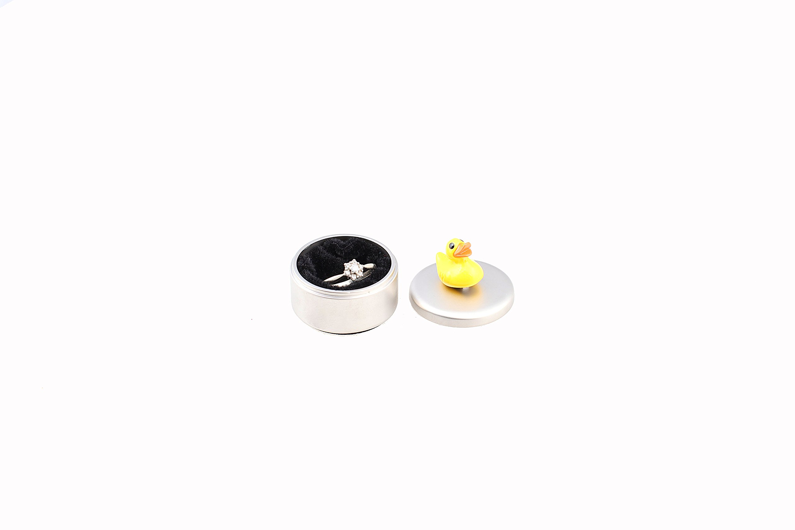 NGNG Tooth Ring Stainless Steel Box Holder Baby Teeth Storage Box - Duck by NGNG (Image #2)