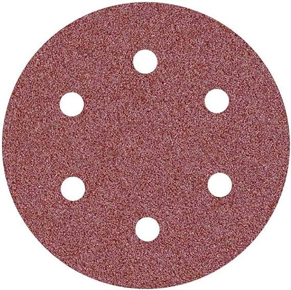 225 mm grain 60 9 trous MioTools Disques abrasifs auto-agrippants pour ponceuses girafes Lot de 25