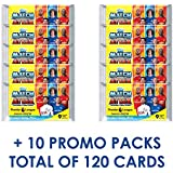 2017-18 Topps Match Attax EPL Cards - 10-Pack Set + 10 Promo Packs (10 Packs of 9 Cards + 10 Promo Packs of 3 Cards - Total of 120 Cards)