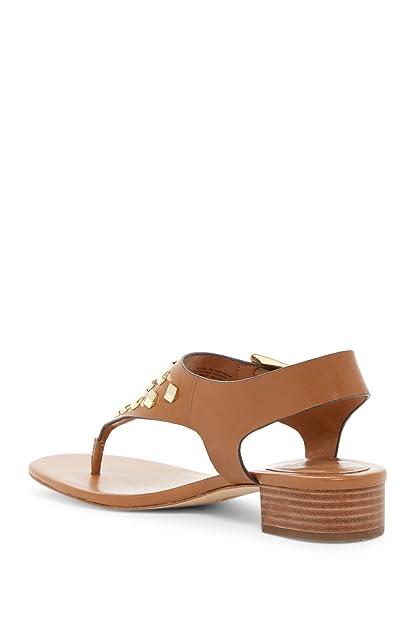 Michael Kors Michael Womens Valencia Thong Leather Open Toe, Acorn, Size  5.0 US/3 UK US: Amazon.co.uk: Shoes & Bags
