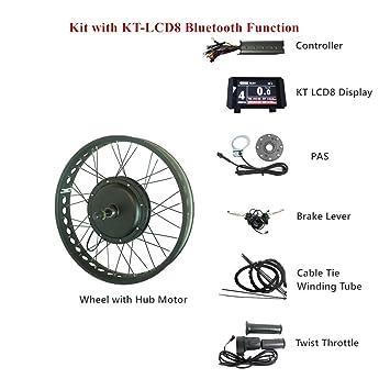 Amazon com : LOLTRA E-Bike Kit 48V 500W/750W/1000W/1500W 20