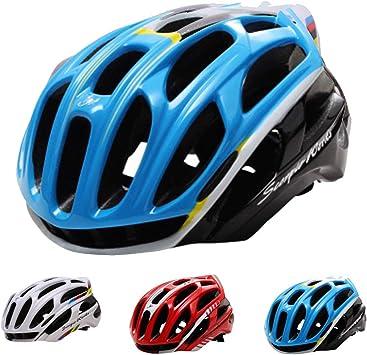 Adulto Casco Ciclismo,CE Certified- Unisexo Casco Bicicleta Montaña Medida de Seguridad,Tamaño Ajustable Casco Bici para Hombres Mujeres 36 Ventilación Transpirable Casco Bici BMX Monopatín: Amazon.es: Deportes y aire libre