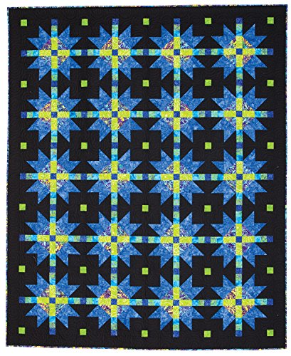 Connecting Threads Twin Quilt Kit (Nightfall) - Hand Dyed Batik Quilt Backing