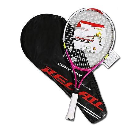 Raqueta de Tenis para niños, Raquetas de Tenis Juvenil con Bolsa de Agarre de Tenis
