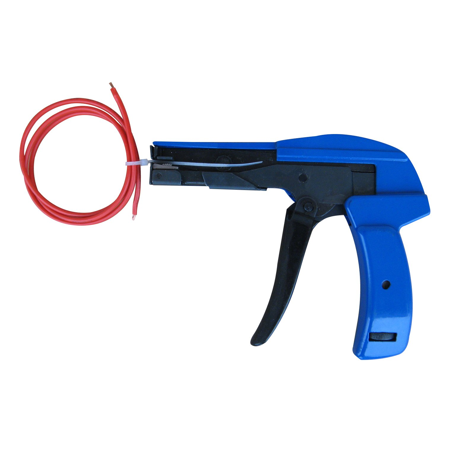 ECO LLC 165mm Tensioning Tool Fastener Cutting Hand Tools Plastic Nylon Cable Ties Gun