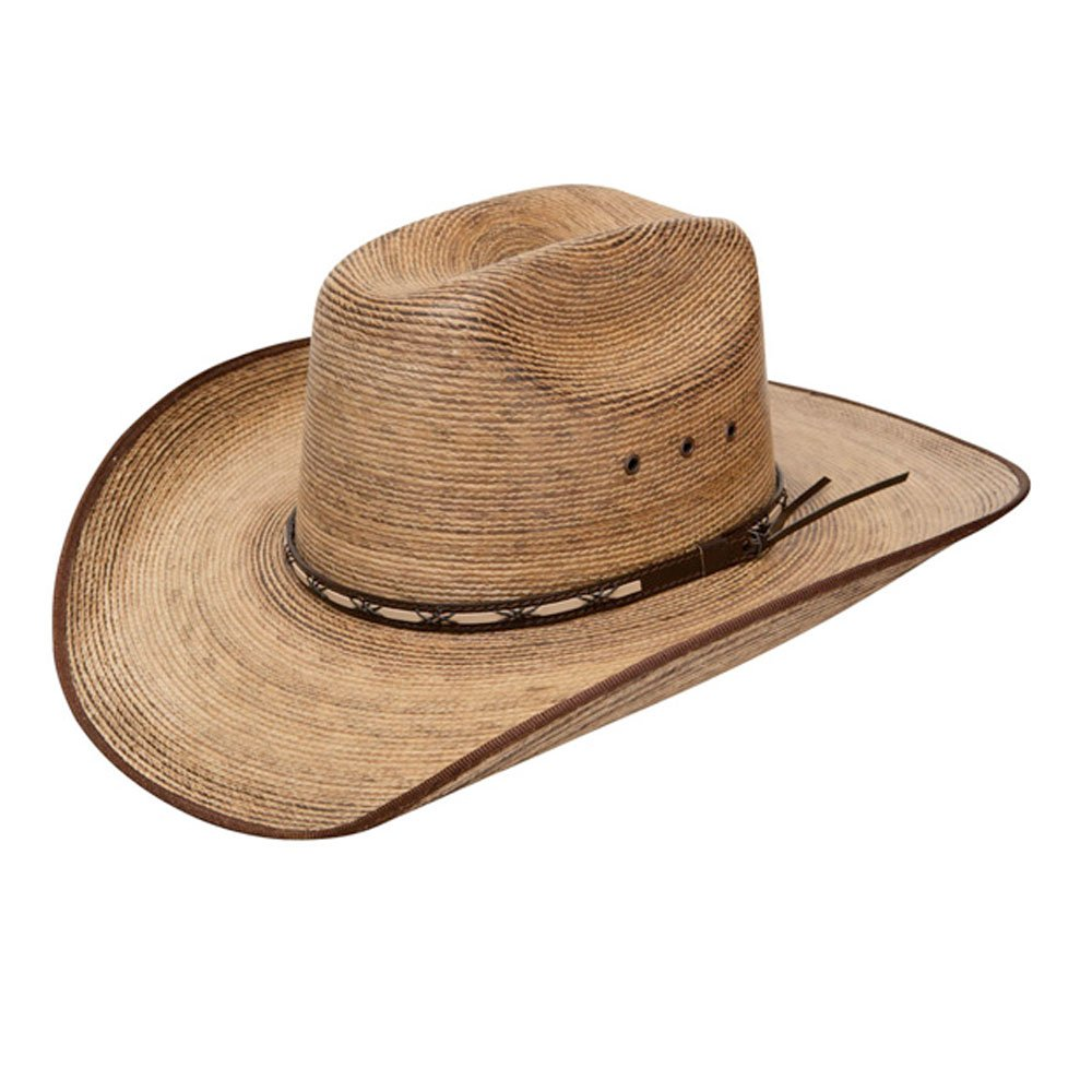 Resistol Jason Aldean Boys Amarillo Sky Jr. Straw Cowboy Hat Tan One Size