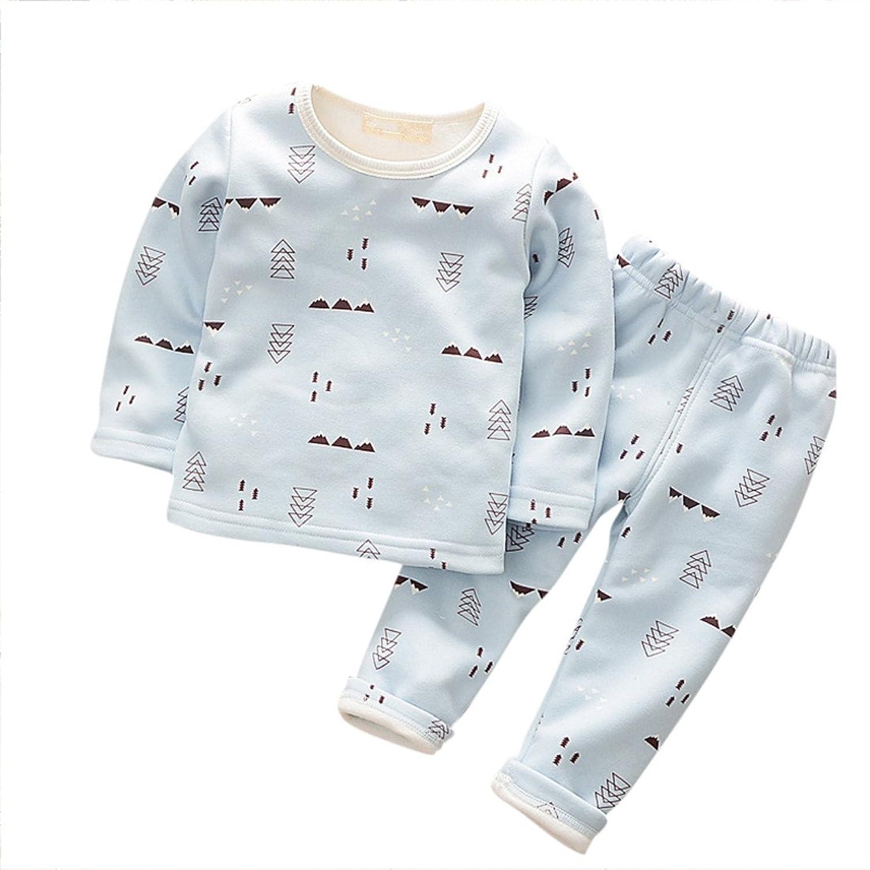 cab4f91bc Winzik Little Baby Boys Girls Kids Sleepwear Cartoon Pattern Long ...