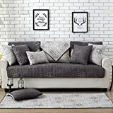 L&Zr 100% Cotton Couch Pad Anti-Slip,Breathable,Wear-Resistant,Thicken Concise Style Sofa Protector Cover,Bay Window Cushion,Furniture Protector(1 Sheet),7070Cm