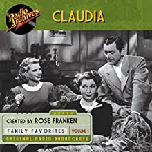 Claudia, Volume 1 Radio/TV Program Auteur(s) : James Thurber Narrateur(s) :  full cast