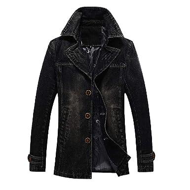 GAGA Mens Lightweight Down Puffer Jacket Warm Parka Outwear Casual Coats