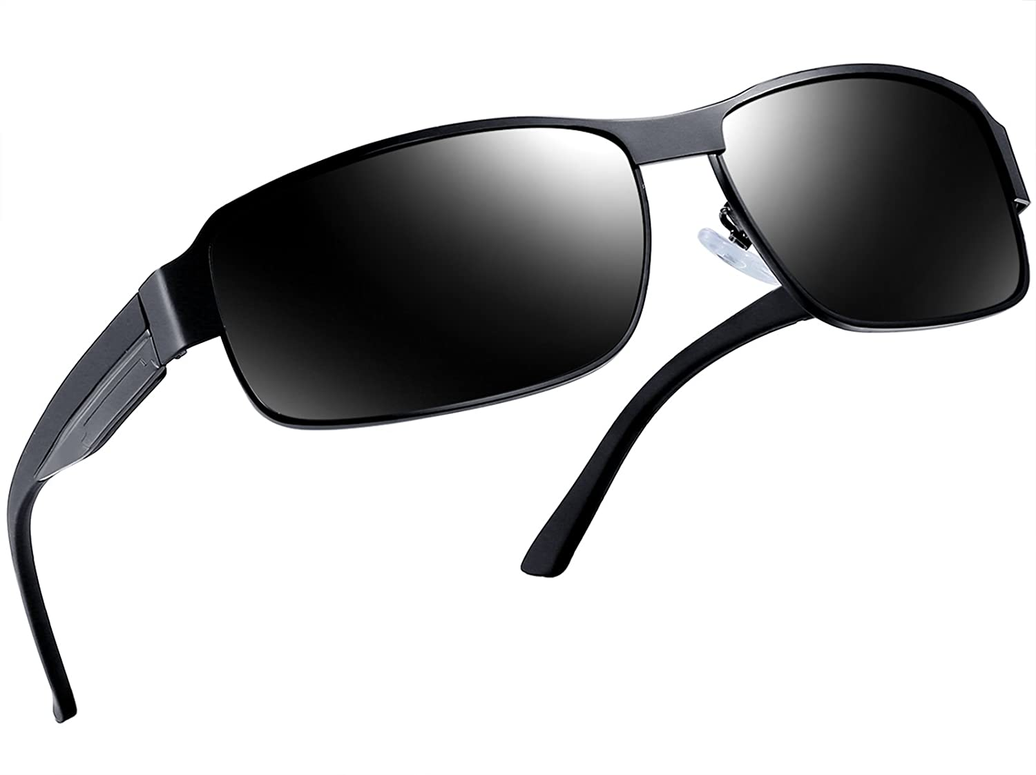 84ece48cbd12 Amazon.com  Joopin-Polarized Sunglasses Men Polaroid Driving Sun Glasses  Mens Sunglass (Black