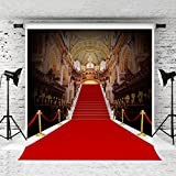 Kate 10 x 10ft Red Carpet Backdrop Palace Style Stage Photography Background Photo Studio Props Seamless