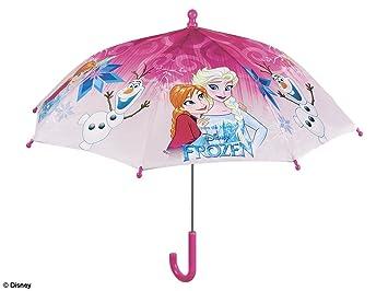 PERLETTI 50215 Girl 38/8 - Paraguas de Seguridad para Hombre con Estampado de Frozen
