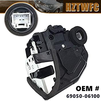 APDTY 042515 Integrated Door Latch /& Power Door Lock Actuator Motor Fits Rear Right On Select Toyota Lexus Models View Compatibility Chart For Your Specific Model; Replaces 69050-06100, 6905006100