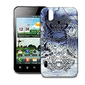 Phone Case For LG Optimus P970 - Ghost Pirate Snap-On Premium