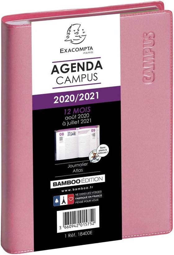Exacompta 184008E Agenda Forum 1 Day per Page August 2020, July