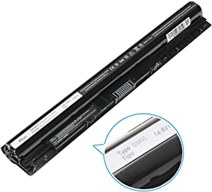 New M5Y1K Laptop Battery Compatible with Dell Inspiron 15 3000 5000 5555 5558 5559 3552 3558 3567 14 3452 3458 5458 17 5755 5758 5759 Series Notebook,fit Gxvj3, K185W, Ki85W, Wkrj2, VN3N0[14.8V 40WH]