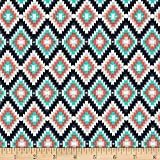 (US) Art Gallery Recollection Kilim Inherit Shadow Fabric By The Yard