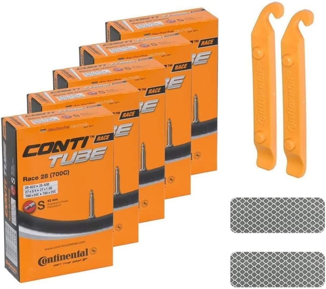 "Continental Race 28"" S42 Presta Valve Bike Tubes"
