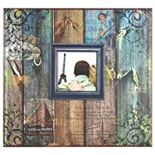 MCS Expressions Collection Family Love Expandable Scrapbook, Includes 10 Acid Free 12X12 Inch Pages and 3.5X5.5 Cover Picture Opening