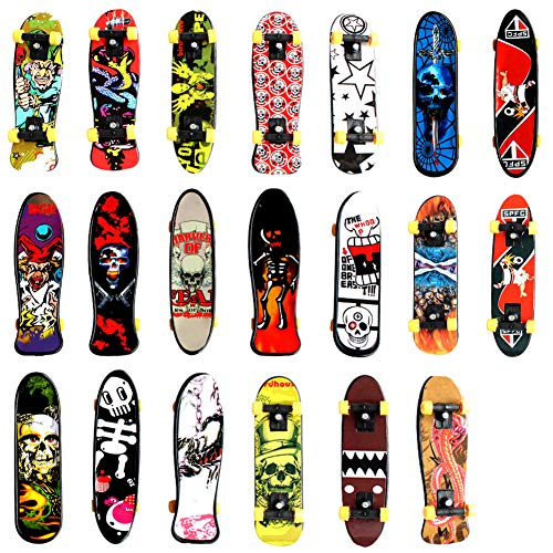 - DOYIFun Pack of 20 Professional Mini Finger Skateboard, Creative Fingertips Movement Party Favors Novelty Toys for Kids Party Supplies Props Decoration